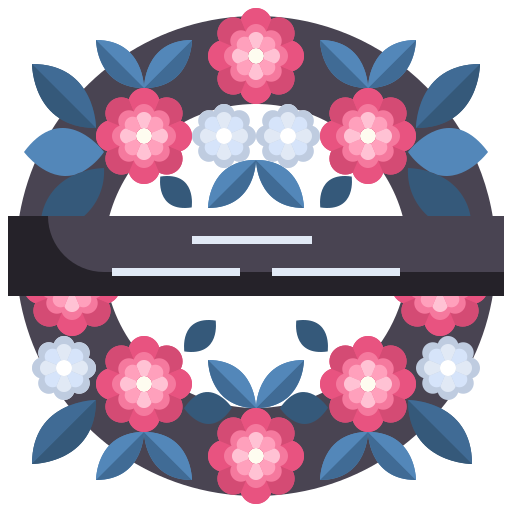 Funeral Flowers Icon